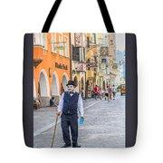 Charlie Chaplin In Innsbruck Tote Bag