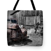 Charlies Place Tote Bag