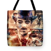 Charlot Colors And Poems  Tote Bag
