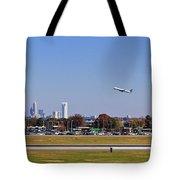 Charlotte Airport Tote Bag