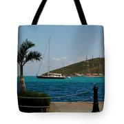 Charlotte Amalie Harbor Tote Bag