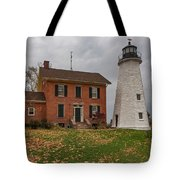 Charlotte-genesee Lighthouse Tote Bag