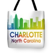 Charlotte Nc Tote Bag by Angelina Vick