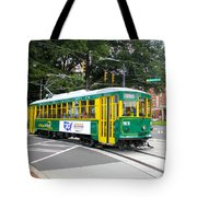 Charlotte Streetcar Line 3 Tote Bag