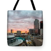 Charlotte Sunset Tote Bag