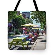 Charlottetown Street Scene Tote Bag