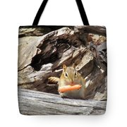 Charming Chipmunk Tote Bag