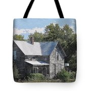 Charming Country Home Tote Bag