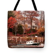 Charming Lady At Rockport Tote Bag