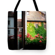 Charming Rothenburg Window Tote Bag