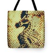 Charming Vintage Seahorse Tote Bag