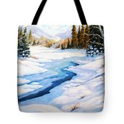 Charming Winter Tote Bag