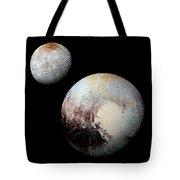 Charon And Pluto Enhanced Tote Bag