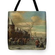 Charriot And Skaters Tote Bag