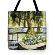 Chartres France Scene Tote Bag