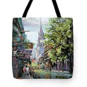 Chartres Rain Tote Bag