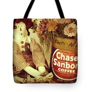 Chase And Sanborn Tote Bag
