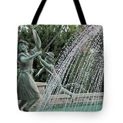 Chase Around The May Pole Tote Bag
