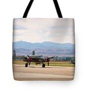 Chase Plane Tote Bag