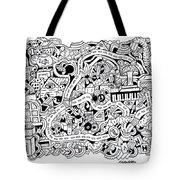 Chasen' Jason Tote Bag by Chelsea Geldean