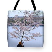 Chasing Blossoms Tote Bag