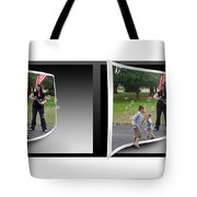 Chasing Bubbles - Gently Cross Your Eyes And Focus On The Middle Image Tote Bag