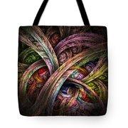 Chasing Colors - Fractal Art Tote Bag
