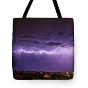 Chasing Nebraska Lightning 035 Tote Bag