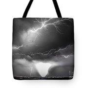 Chasing Nebraska Lightning 052 Tote Bag