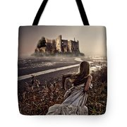 Chasing The Dreams Tote Bag by Mo T