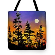 Chasing The Moon Tote Bag