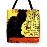 Chat Noir Vintage Tote Bag