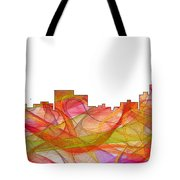 Chatanooga Tennissee Skyline Tote Bag