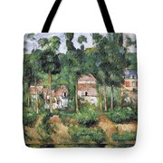 Chateau At Medan, 1880 Tote Bag