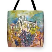 Chateau Cathare De Puylaurens 01 - France Tote Bag