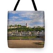 Chateau De Chinon Panorama Tote Bag