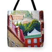 Chateau Frontenac 02 Tote Bag