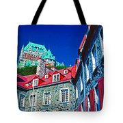 Chateau Frontenac Tote Bag