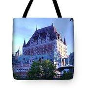 Chateau Frontenac, Montreal Tote Bag