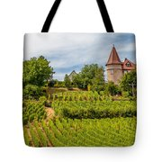 Chateau In A Vineyard Tote Bag