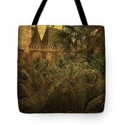 Chateau In The Jungle Tote Bag