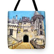 Chateau Saumur, A Long Way Up Tote Bag