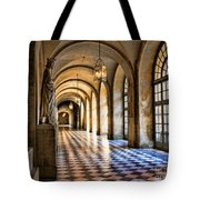 Chateau Versailles Interior Hallway Architecture  Tote Bag