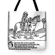 Chaucer: The Prioress Tote Bag