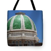 Chaves County Courthouse Green Terracotta Dome Tote Bag