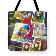Che Guevara And Other Artwork Tote Bag