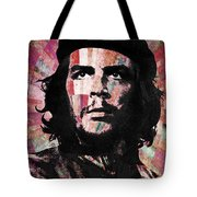 Che Guevara Revolution Red Tote Bag