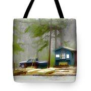 Cheaha Lake Tote Bag