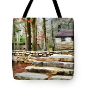 Cheaha State Park In The Fall Tote Bag