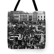 Cheapside Public Square In Lexington - Kentucky - April 7  1920 Tote Bag